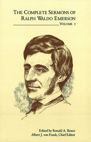 The Complete Sermons of Ralph Waldo Emerson, Volume 3