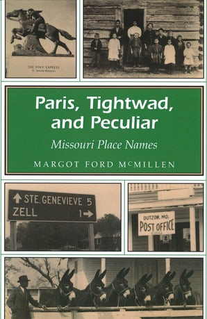 Paris, Tightwad, and Peculiar Paperback  by Margot Ford McMillen