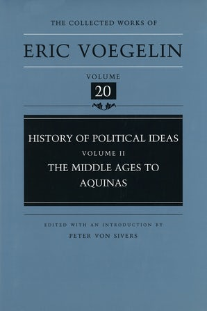 History of Political Ideas, Volume 2 (CW20) Hardcover  by Eric Voegelin