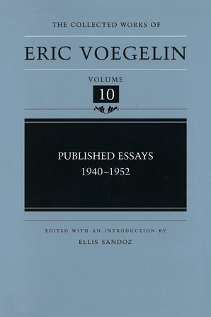 Published Essays, 1940-1952 (CW10)
