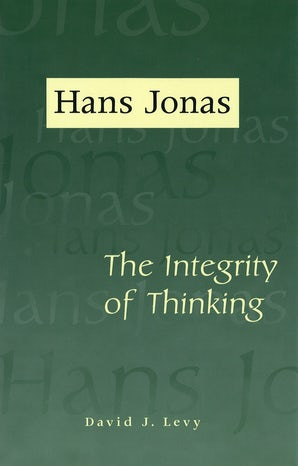 Hans Jonas Hardcover  by David J. Levy