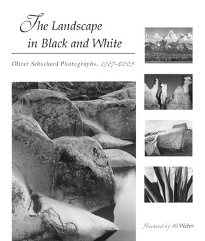 The Landscape in Black and White Hardcover  by Oliver Schuchard