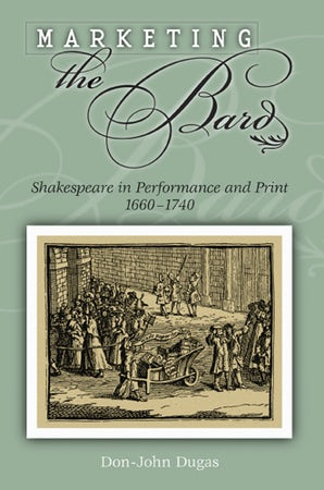 Marketing the Bard Hardcover  by Don-John Dugas