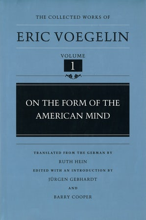 On the Form of the American Mind (CW1) Digital download  by Eric Voegelin
