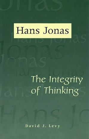 Hans Jonas Hardcover  by David J. Levy