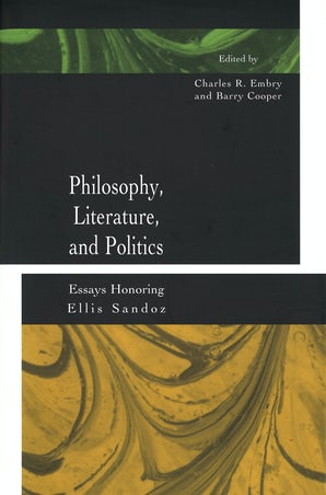 Philosophy, Literature, and Politics Digital download  by Charles R. Embry